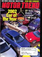 Motor Trend Vol. 54 No. 1 Magazine