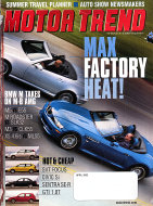 Motor Trend Vol. 54 No. 4 Magazine