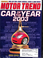 Motor Trend Vol. 55 No. 1 Magazine