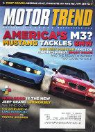 Motor Trend Vol. 62 No. 10 Magazine