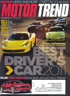 Motor Trend Vol. 63 No. 11 Magazine