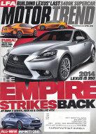 Motor Trend Vol. 65 No. 4 Magazine