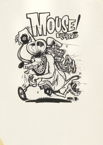 Mouse Equipped Handbill