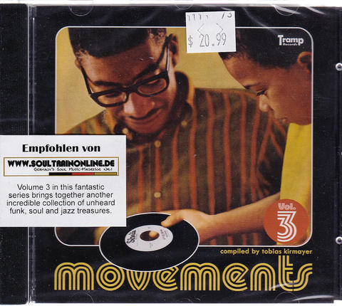 Movements Volume 3 CD
