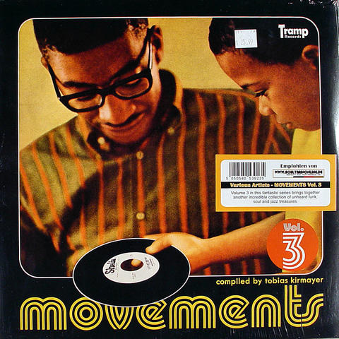 "Movements Volume 3 Vinyl 12"" (New)"