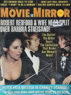 Movie Mirror Magazine August 1974 Magazine