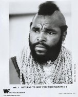 Mr. T Returns to WWF for Wrestlemania 2 Promo Print