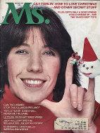 Ms. Magazine December 1976 Magazine