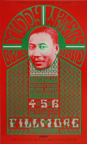 Muddy Waters Blues Band Poster