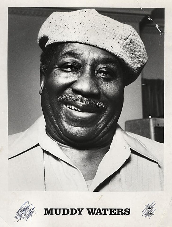 Muddy Waters Promo Print