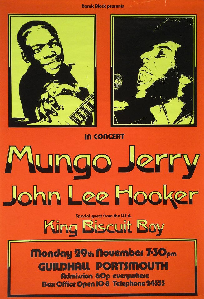 Mungo Jerry Poster