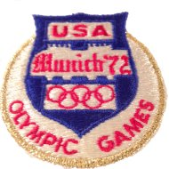 Munich '72 Olympic Games Patch