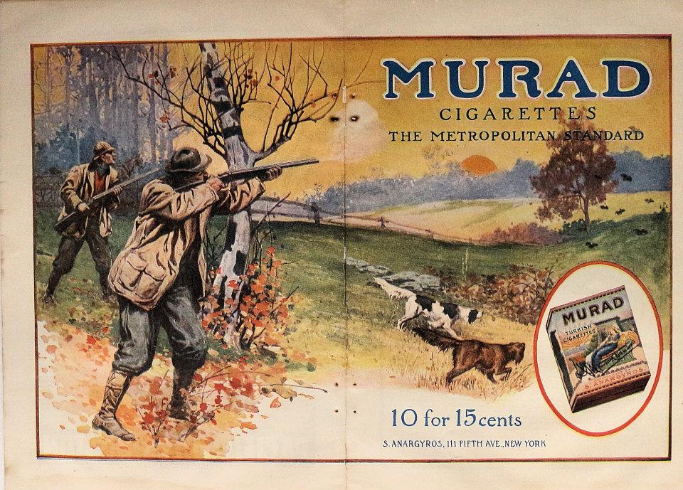 Murad Cigarettes Vintage Ad