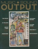 Music And Sound Output Vol. 1 No. 2 Magazine