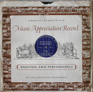 "Music Appreciation Record: Debussy Vinyl 12"" (Used)"