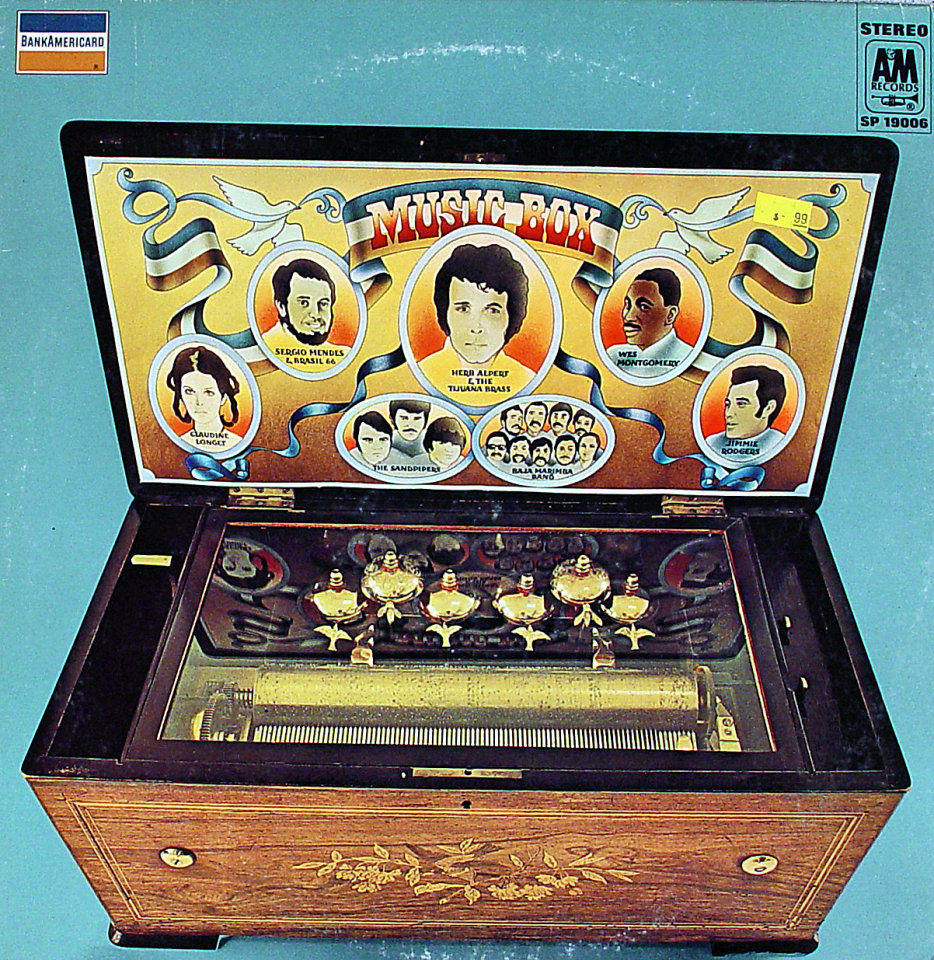 "Music Box Vinyl 12"" (Used)"