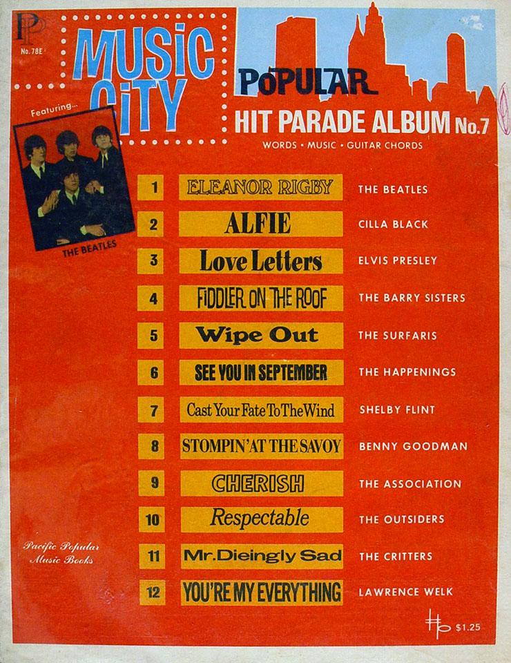 Music City: Popular Hit Parade Album No. 7