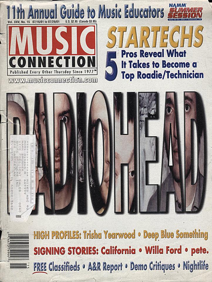 Music Connection Vol. XXV No. 15