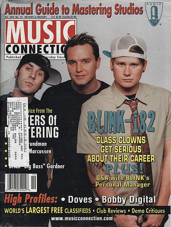 Music Connection Vol. XXV No. 19