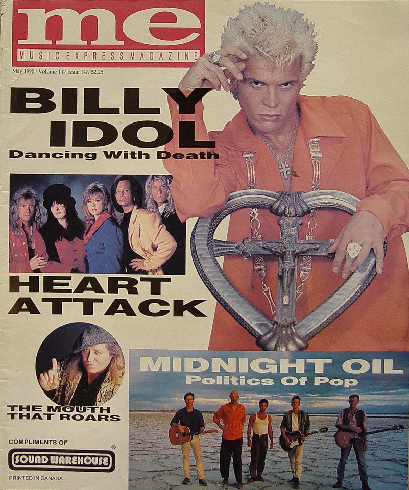 Music Express Magazine May 1990