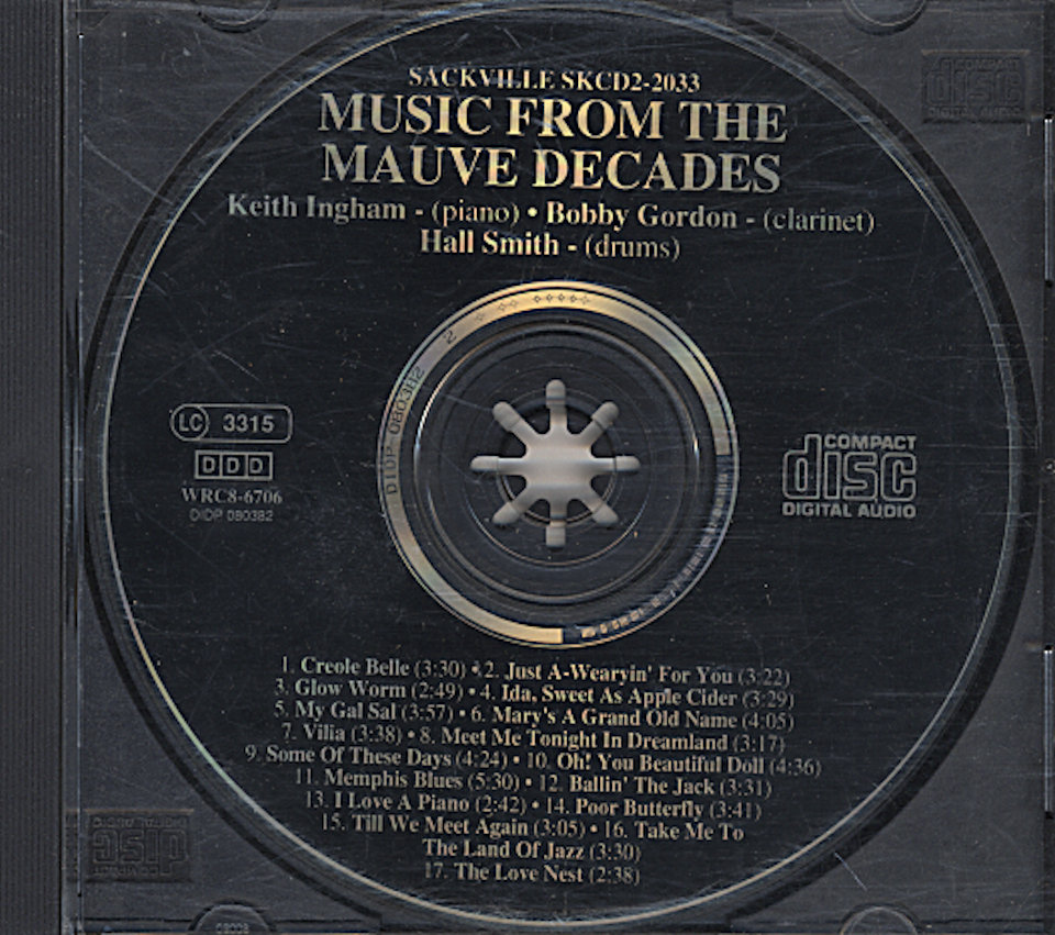 Music From the Mauve Decades CD
