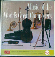 "Music Of The World's Great Composers Vinyl 12"" (Used)"