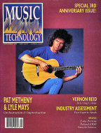 Music Technology Sep 1,1989 Magazine