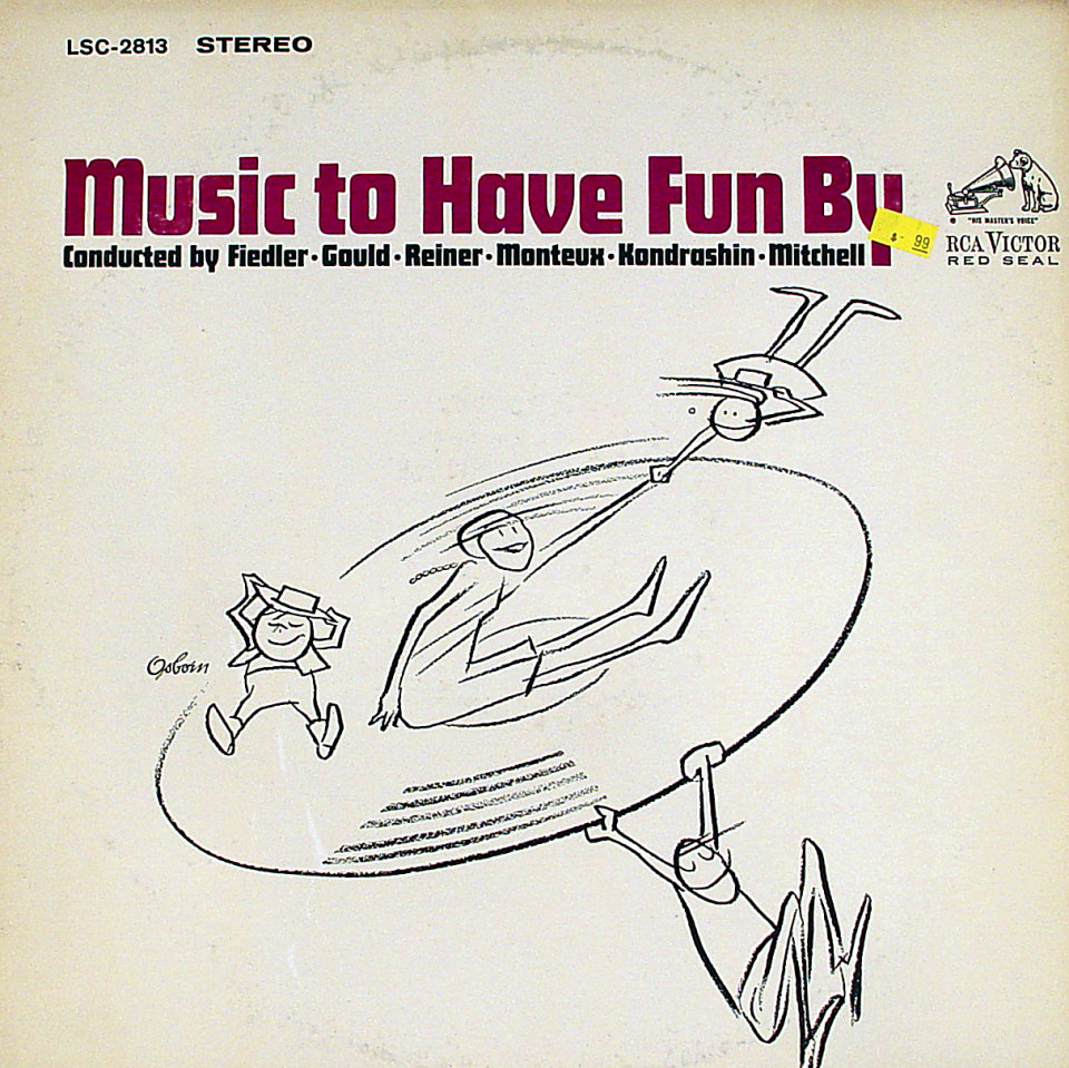 """Music To Have Fun By Vinyl 12"""" (Used)"""