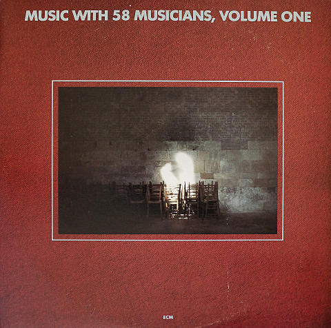 "Music with 58 Musicians, Volume One Vinyl 12"" (Used)"