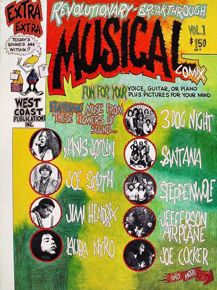 Musical Comix Vol. 1