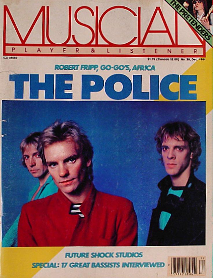 Musician Magazine December 1981 Magazine