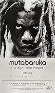 Mutabaruka Poster