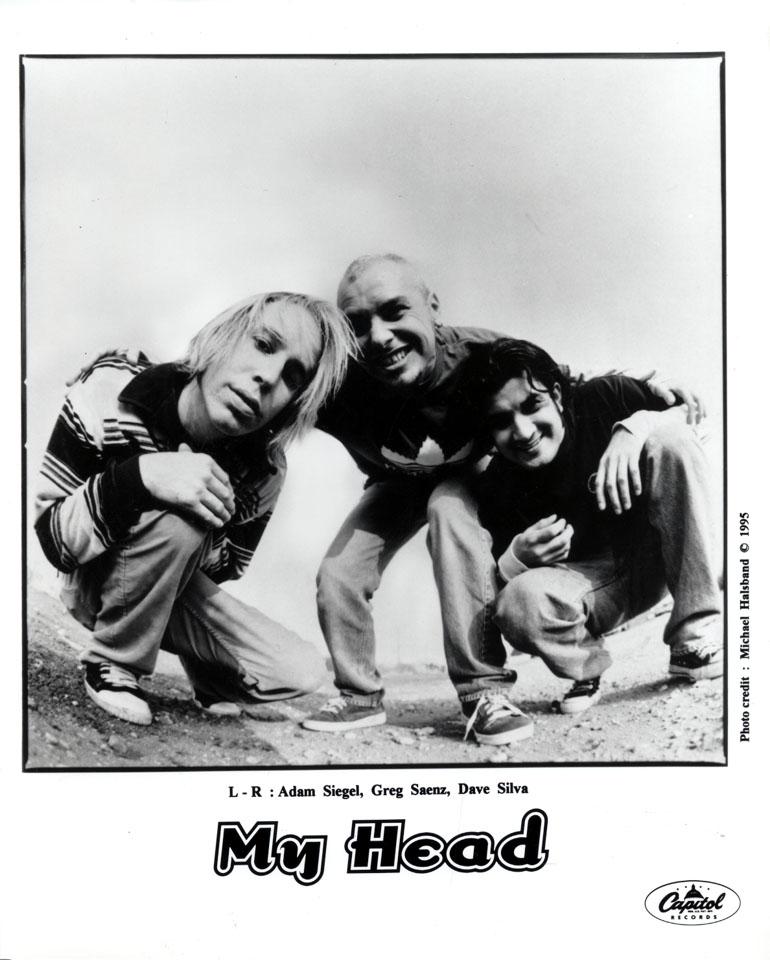 My Head Promo Print