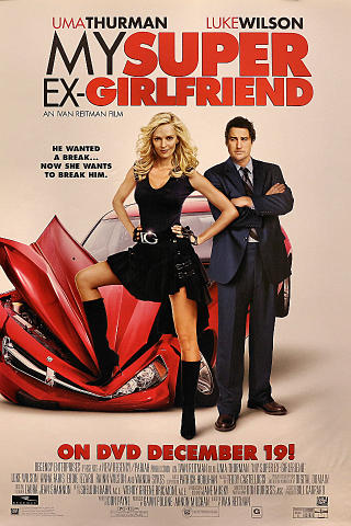 My Super Ex-Girlfriend Poster