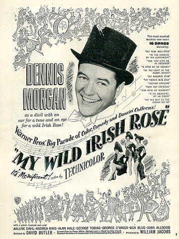 My Wild Irish Rose Vintage Ad
