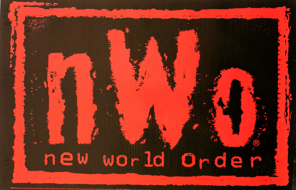 N.W.O. New World Order Poster