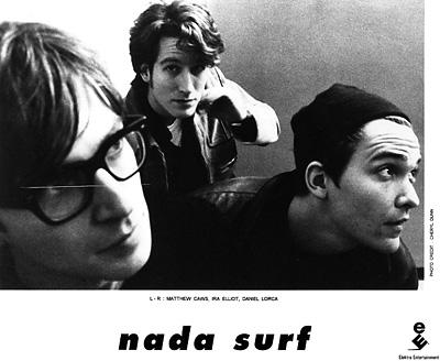 Nada Surf Promo Print