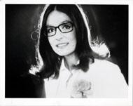 Nana Mouskouri Vintage Print