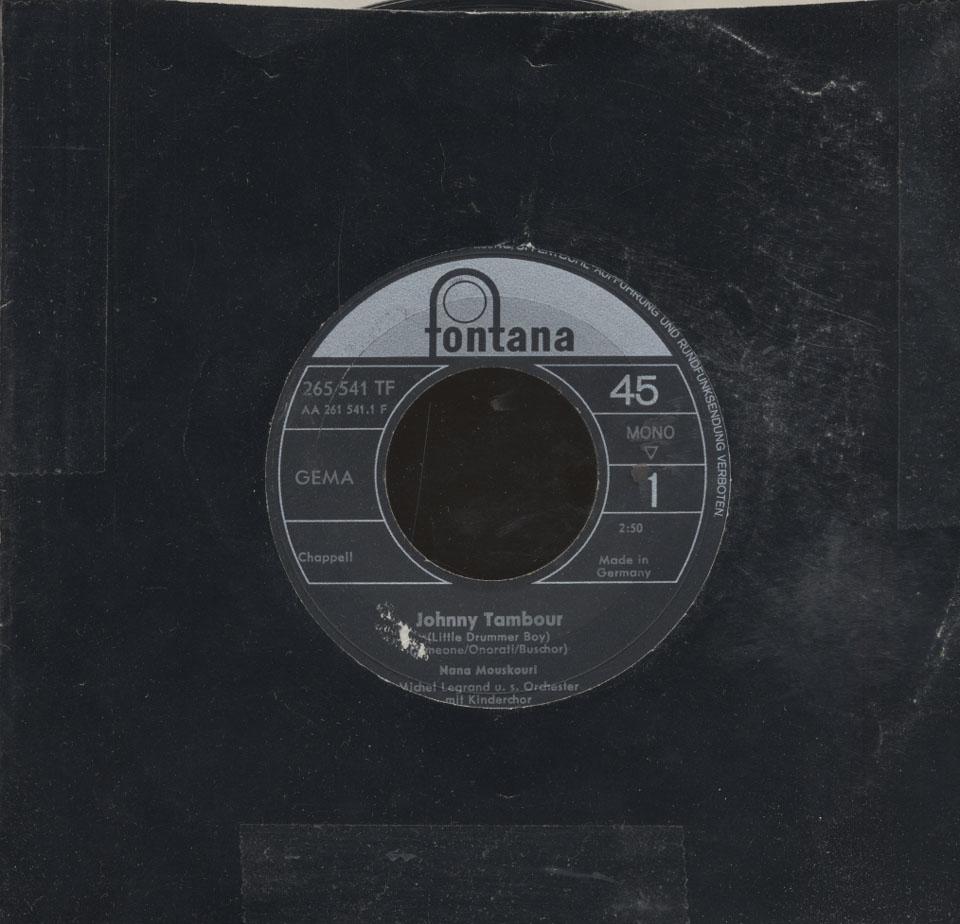 "Nana Mouskouri Vinyl 7"" (Used)"