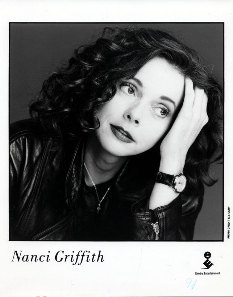 Nanci Griffith Promo Print