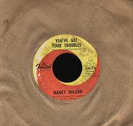 """Nancy Wilson Vinyl 7"""" (Used)"""