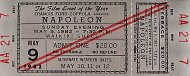 Napoleon Vintage Ticket