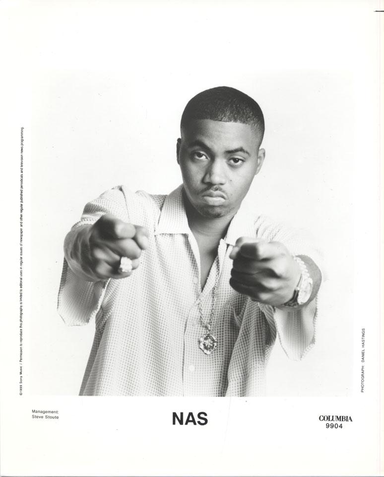nas promo print 1999 at wolfgangs
