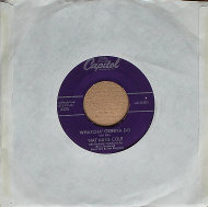 "Nat King Cole Vinyl 7"" (Used)"