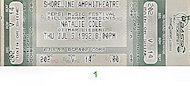 Natalie Cole Vintage Ticket