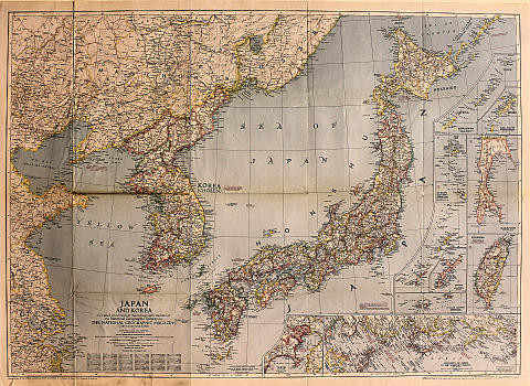 National Geographic: Japan and Korea Poster