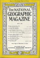 National Geographic  May 1,1945 Magazine