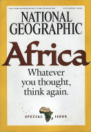 National Geographic Special Africa Issue Magazine