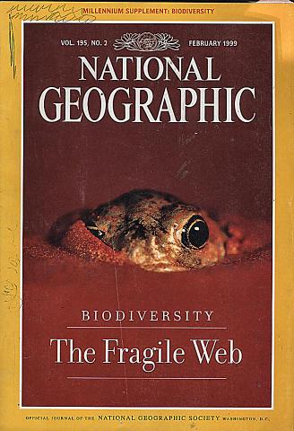 National Geographic Vol. 195 No. 2 Magazine
