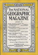 National Geographic Vol. CIX No. 1 Magazine
